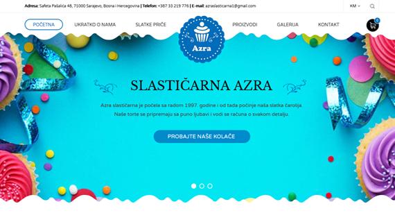 Azra-Slasticarna-Sarajevo-INdizajn-Studio-izrada-web-stranica-i-graficki-dizajn