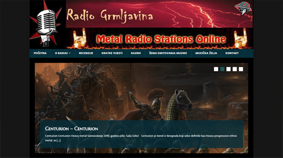 RADIO GRMLJAVINA BANJA LUKA - INdizajn Studio - izrada web stranica i graficki dizajn