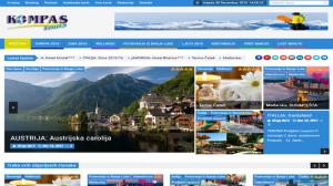 Kompas tours Banja Luka - INdizajn Studio - izrada web stranica i graficki dizajn