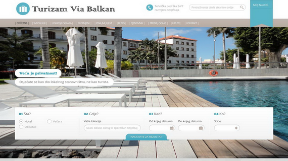 Turizam Via Balkan - INdizajn Studio Banja Luka - izrada web stranica i graficki dizajn