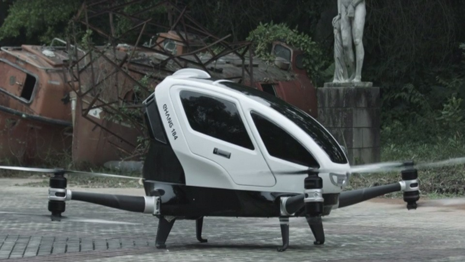 INdizajn Studio Banja Luka – izrada web stranica i graficki dizajn – Buducnost letenja, predstavljen prvi putnicki dron na svetu