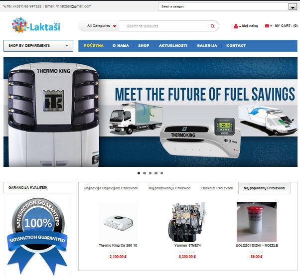 TH s.p. Laktasi - INdizajn Studio - izrada web stranica i graficki dizajn - TH