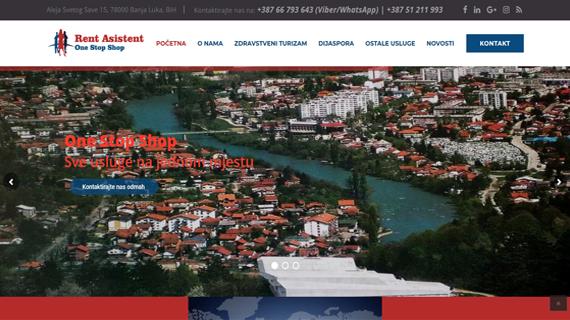 Rent Asistent Banja Luka - INdizajn Studio izrada web stranica i graficki dizajn