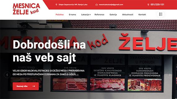 MESNICA kod ŽELJE Banja Luka - INdizajn-Studio-izrada-web-stranica-i-graficki-dizajn
